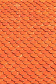 Top orange roof — Stock Photo