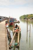 Fishing Village — Stock Photo