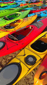 Kayak Colors — Stock Photo