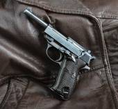 World War II German officers pistol. — Stock Photo