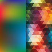Sfondo geometrico di triangoli — Vettoriale Stock