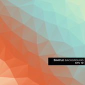 Abstract Triangles background — Stockvektor