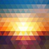 Dreiecke geometrischen Hintergrund — Stockvektor