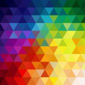 Triangles abstract background — Stock Vector