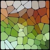 Geometrical shapes background — Vecteur
