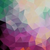 Geometryczne tło trójkąty — Wektor stockowy