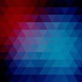 Driehoeken abstracte achtergrond — Stockvector
