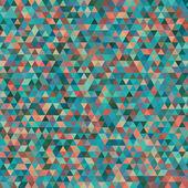 Trianglar geometrisk bakgrund — Stockvektor