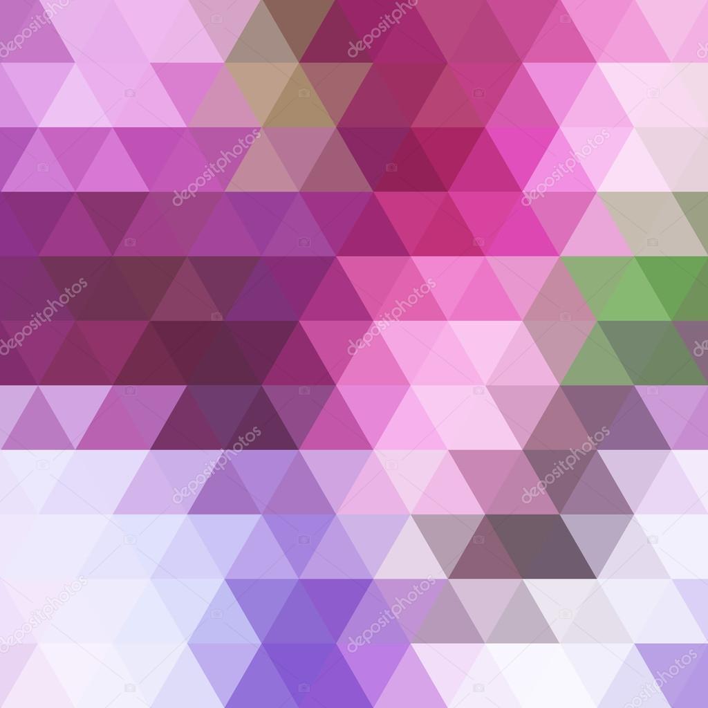 三角形抽象几何背景
