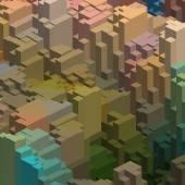 Geometrical cubes background — ストックベクタ