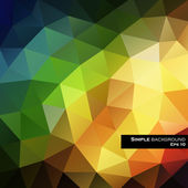 Abstraktní pozadí trojúhelníky — Stock vektor