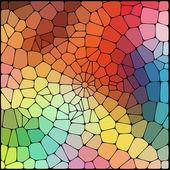 Pozadí abstraktní geometrické — Stock vektor