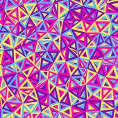 Abstract multicolored Triangles — Stock Vector