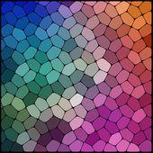 抽象的な幾何学的な背景 — ストックベクタ