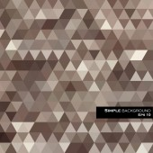 三角形の幾何学的な背景 — ストックベクタ