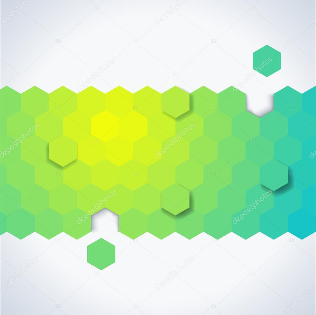 抽象的几何形状组成的背景