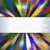 Abstract square text box design background vector — Stock Photo