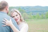 Happy family couple — Stock Photo