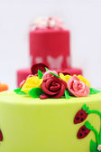 Big cake — Stock Photo
