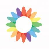 Logo flower icon — Stock Vector