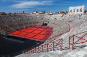 Verona's Roman amphitheatre — Stock Photo