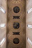 Ceiling of San Pietro a Majella in Naples, Italy — Stock Photo
