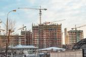 Construction in Moscow — Stock Photo