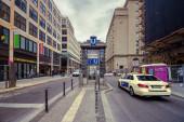 Taxi car in Berlin — Stock Photo