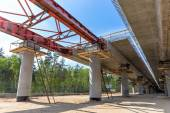 Overpass construction — Stock Photo