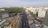 Novoryazanskoe highway — Stockfoto