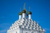 Domes and kokoshniks of the church in Kolomna — Stock Photo