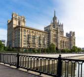 Kotelnicheskaya Embankment Building — Stock Photo