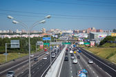 Moscow Ring Road — Fotografia Stock