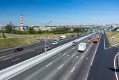 Moscow Ring Road — Stock Photo