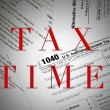 Tax filing time — Stock Photo #65748447
