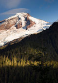 North Cascades Mt. Baker Heliotrope Ridge Glacier Peaks — Stock Photo