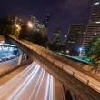 Interstate 5 Travels Underneath Roads Parks Buildings Seattle Wa — Stock Photo #57466889
