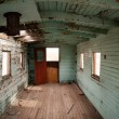 Abandoned Railroad Caboose Interior Western Ghost Town — Stock Photo #59180913