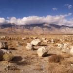 Mesquite Flat Cottonwood Mountains Death Valley Desert Landscape — Stock Photo #59237209