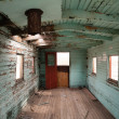 Abandoned Railroad Caboose Interior Western Ghost Town — Stock Photo #59730837