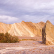 Постер, плакат: Colorful Rock Wall and Drainage Channel Death Valley