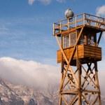 Guard Tower Searchlight Manzanar National Historic Site California — Stock Photo #61419799