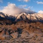 Alpine Sunrise Alabama Hills Sierra Nevada Range California — Stock Photo #61431167
