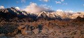 Alpine Sunrise Alabama Hills Sierra Nevada Range California — Stock Photo