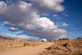 Off Road Recreation Alabama Hills Above Lone Pine — Foto Stock