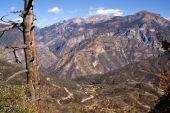 King's Canyon California Sierra Nevada Range Outdoors — Stock Photo
