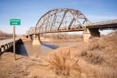 Bridge over Missouri River Montana Northern United States — Stock Photo