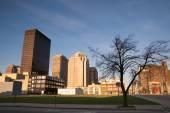 Desolate Street Sunday Morning Sunrise Dayton Ohio Midwest USA — Stock Photo