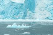 Aialik Glacier Ice Flow Pacific Ocean Alaska Coast — Stock Photo