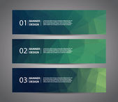 Abstract banner — Stock Vector